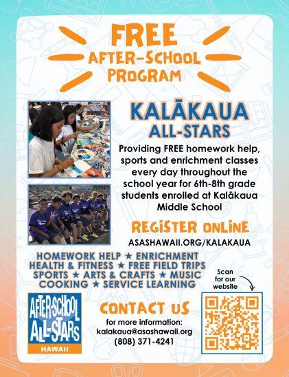 21-22 Flyer Kalakaua