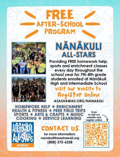 21-22 Flyer Nanakuli